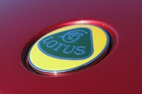 2011 Lotus Evora S badge
