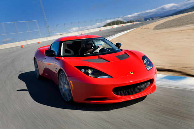 2011 Lotus Evora S on-track