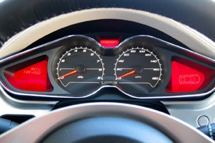 2011 Lotus Evora S gauges