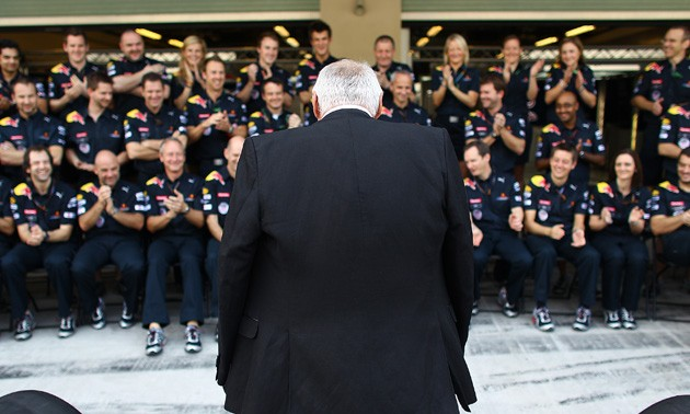 Red Bull chief Dietrich Mateschitz 