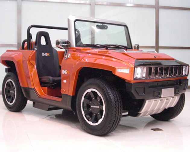 MEV rocks up with electric mini Hummer HX - EvoXForums.com ...