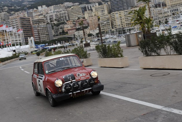 Mini at the Rallye de Monte Carlo Historique