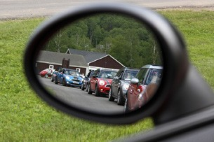 side view mirror of minis