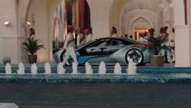 Mission: Impossible - Ghost Protocol BMW i8