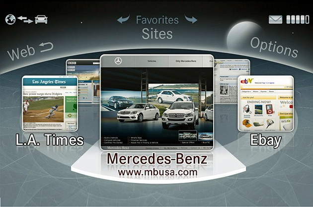 Mercedes-Benz Comand Browser
