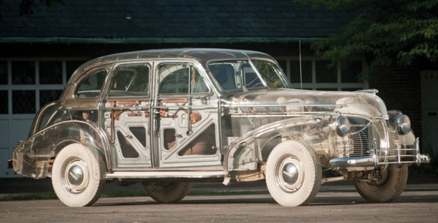 Transparent 1939 Pontiac