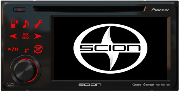 2012 Scion xB Pioneer Head Unit