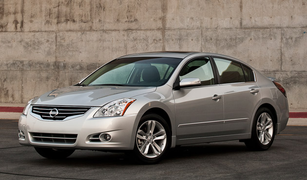 nissan details 2012 altima pricing and package tweaks. Black Bedroom Furniture Sets. Home Design Ideas