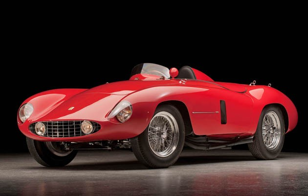 1955 Ferrari 750 Monza Spider - chassis #0492M