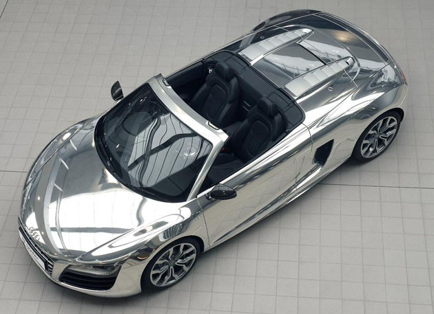 Chrome Audi R8 Spyder for EJAF
