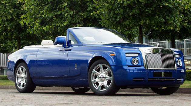 Rolls-Royce Phantom Drophead Coup Masterpiece London 2011