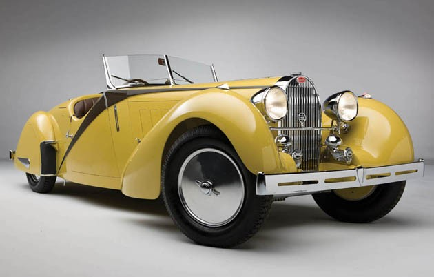 1935 Bugatti Type 57 Grand Raid Roadster by Carrosserie Worblaufen