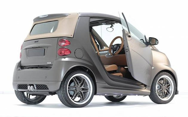 Smart Brabus ForTwo by Boxfresh