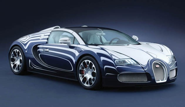 Bugatti Veyron Grand Sport L'Or Blanc
