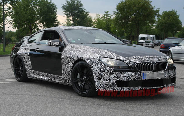 BMW M6 Coupe spy shots