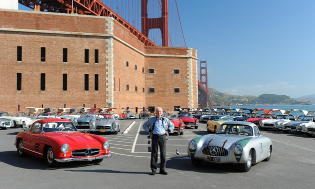 Gullwings at the Golden Gate