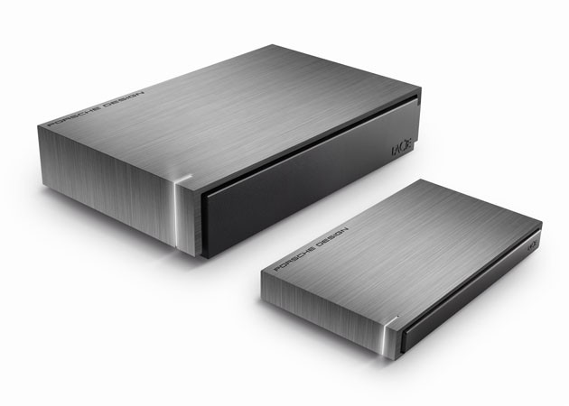LaCie Porsche Design P'9220 and P'9230 hard drives