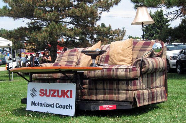 Suzuki Electric Motorized Couch Prototype Vehicle