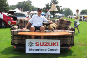 Suzuki Motorized Electric Couch Sofa front