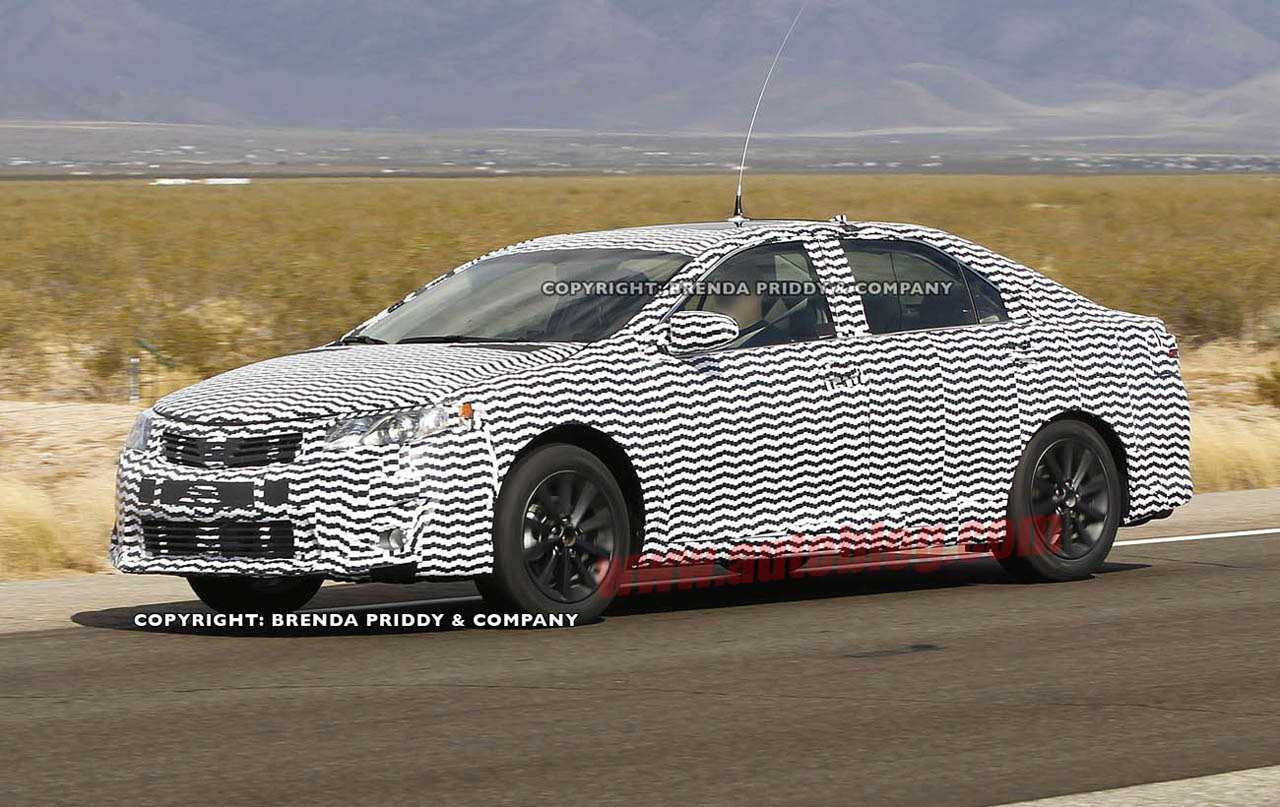 Spy Shots: 2012 Toyota Camry Photo Gallery - Autoblog