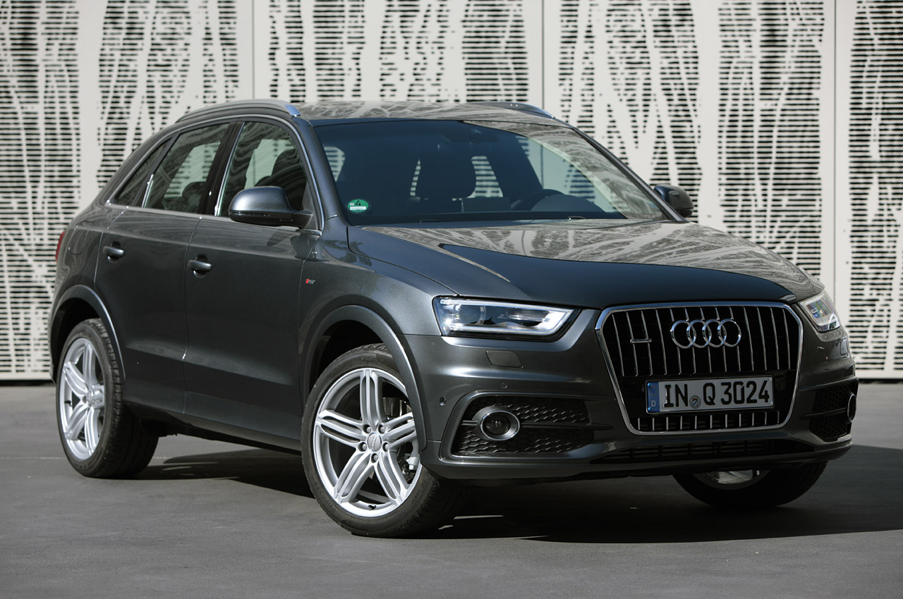 audi bringing q3 stateside after all autoblog. Black Bedroom Furniture Sets. Home Design Ideas