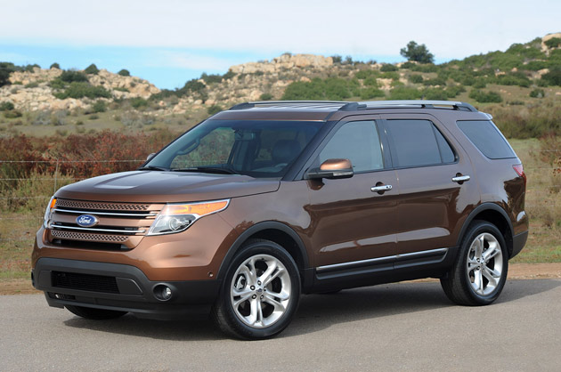 2012 Ford Explorer 2.0-liter EcoBoost to net 20 mpg city, 28 highway