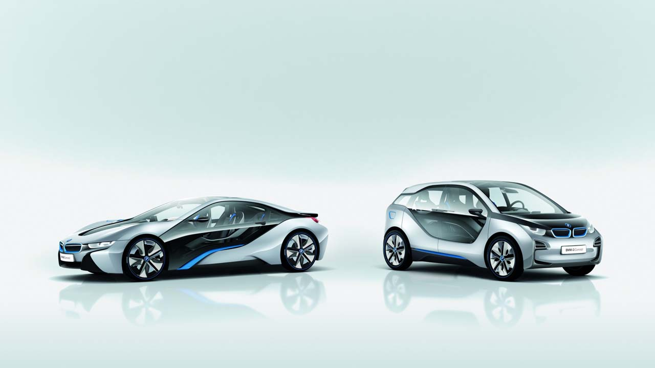 official bmw i3 and i8 revealed updated w video autoblog. Black Bedroom Furniture Sets. Home Design Ideas