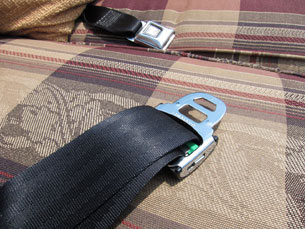 Suzuki Motorized Electric Couch Sofa seat belts