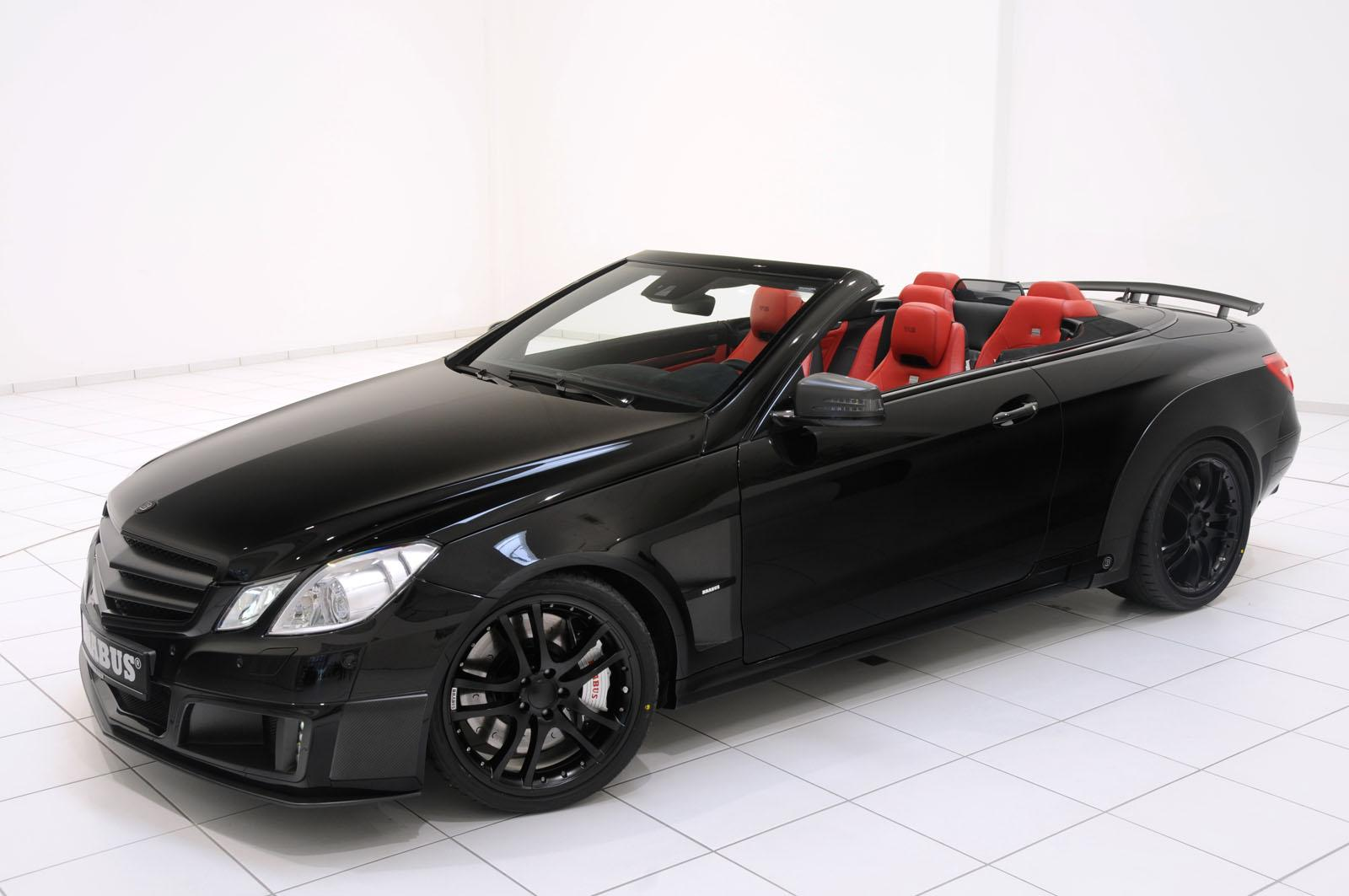 Brabus 800 e v12 cabriolet out blacks amg 39 s black series for Drop top mercedes benz prices