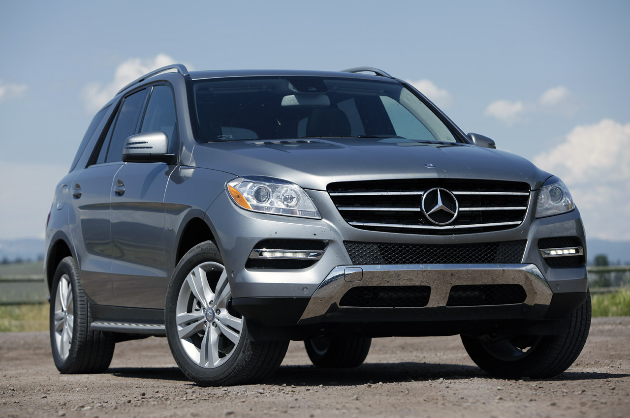2012 mercedes benz ml350 bluetec 4matic first drive photo. Black Bedroom Furniture Sets. Home Design Ideas