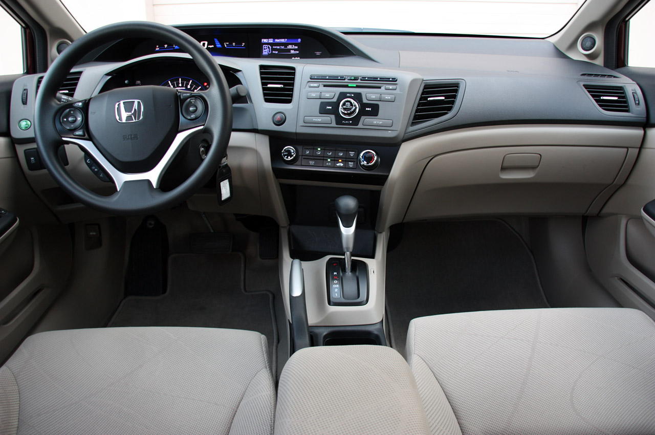 2012 Honda Civic Ex Sedan Review Photo Gallery Autoblog