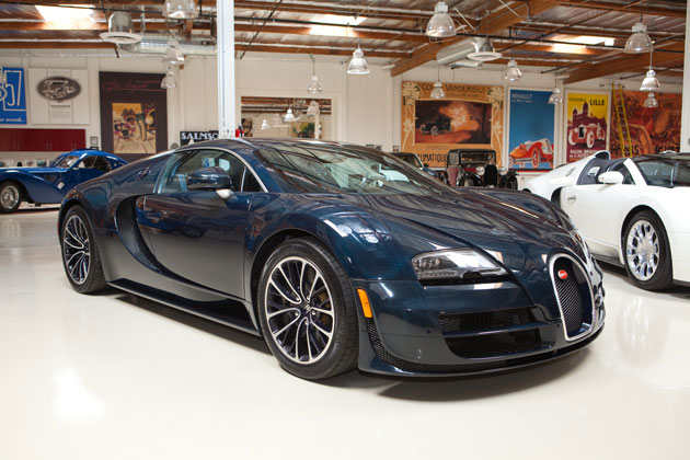 Bugatti Veyron Super Sport in Jay Leno's Garage
