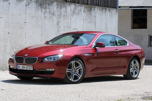2012 BMW 6 Series Coupe