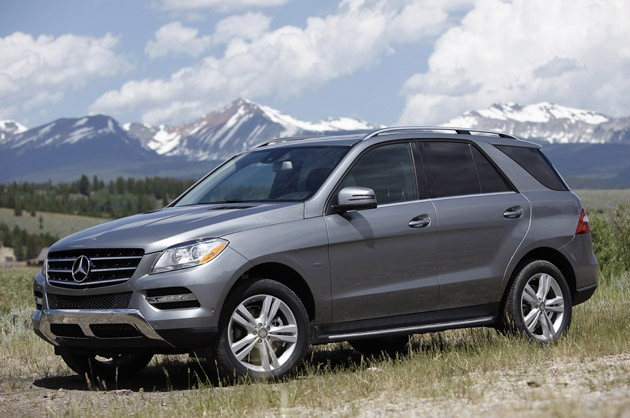 Mercedes-Benz ML350 BlueTec 4Matic