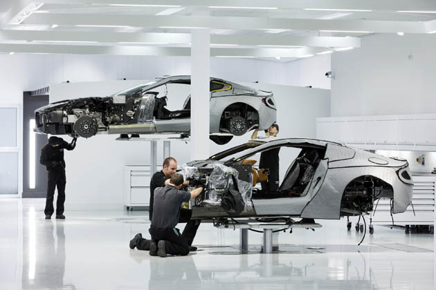 Aston Martin production