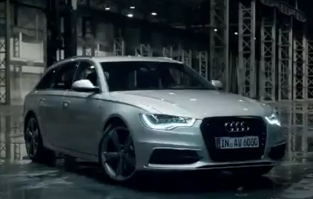 2012 audi a6 avant commercial screenshot