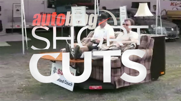 Autoblog Short Cuts: Suzuki Motorized Electric Couch