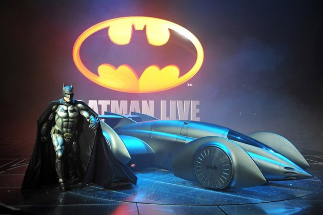 batman live batmobile