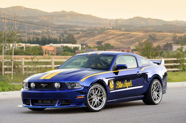 Blue Angels Ford Mustang GT