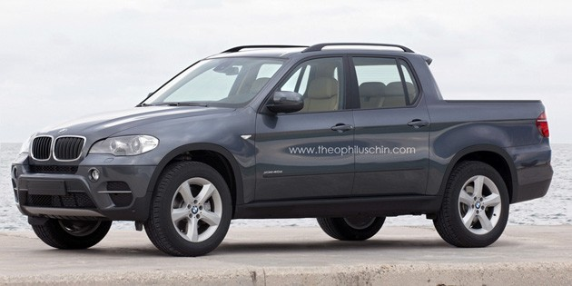 What would a BMW X5 pickup look like?