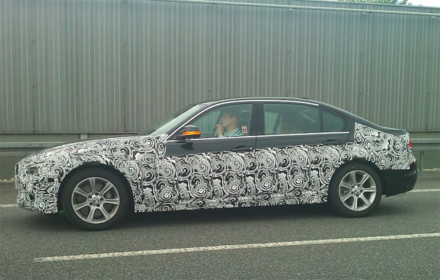 BMW 3 Series spotted testing