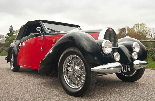 1938 Bugatti Type 57 Stelvio Cabriolet