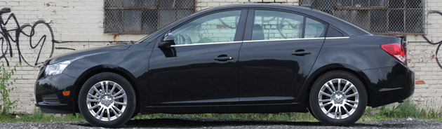 2011 Chevrolet Cruze Eco side profile