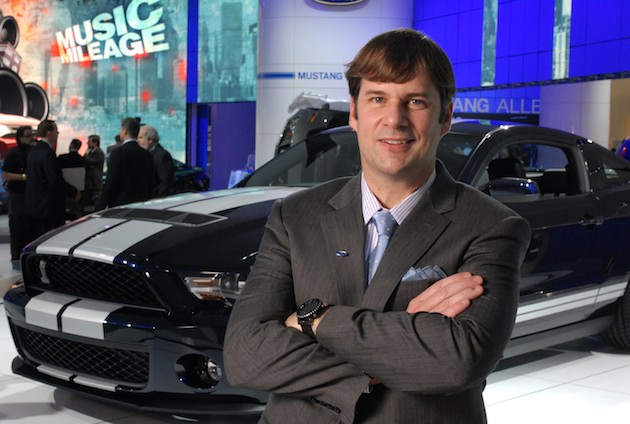 Jim Farley, Ford Group Vice President of Marketing and Communications