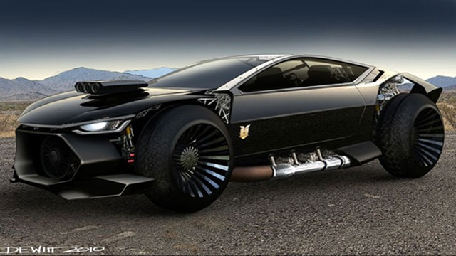 Ford Displays Two Mad Max Interceptor Concepts In