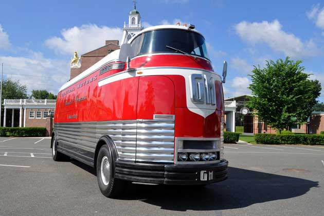 Multi million dollar gmc futurliner to be auctioned by for Ebay motors cars trucks