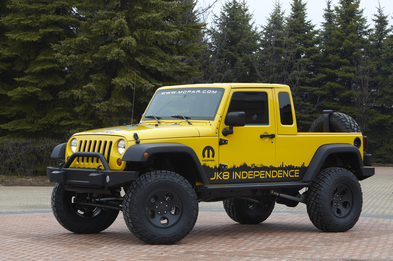 Certified Pre Owned Jeep Wrangler >> Jeep announces new Wrangler Unlimited Pickup... in kit form - Autoblog