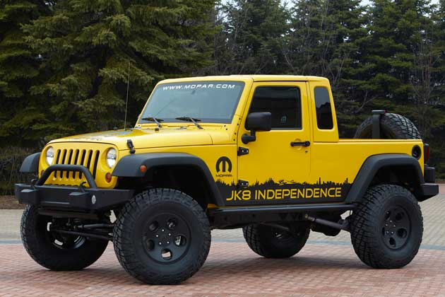 Jeep JK-8 Independence pickup conversion kit