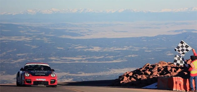 jeff zwart pikes peak 2 Jeff Zwarts record breaking run up Pikes Peak in a Porsche 911 GT2