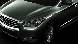 Infiniti JX teaser